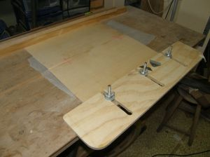 The jointing table